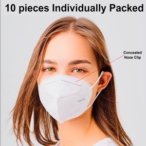KN95 CERTIFIED RESPIRATOR  10 PACK MASK